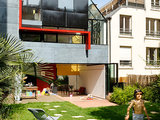 industrial exterior Houzz Tour: Artful Architecture in the Heart of Paris (20 photos)