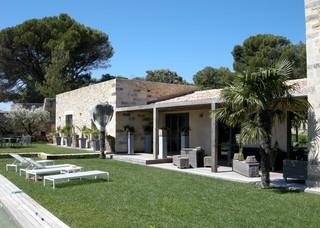 Maison moderne avec piscine d bordement - Maison moderne avec jardin saint paul ...