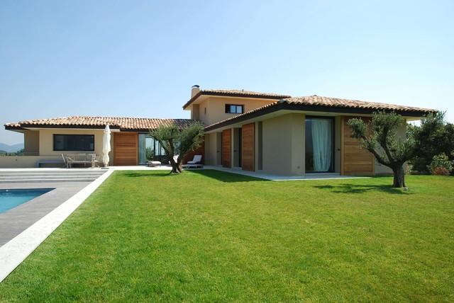 Mediterrane Architektur maison moderne neuve 242m cogolin