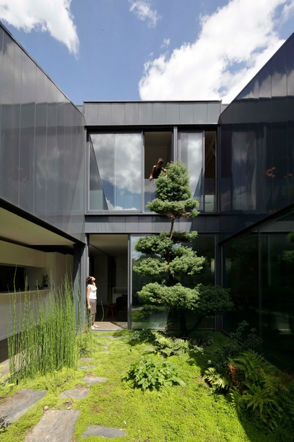 Maison yume modern exterior other metro by frank salama - Frank salama architect ...
