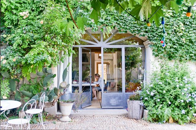 m diterran en jardin. Black Bedroom Furniture Sets. Home Design Ideas