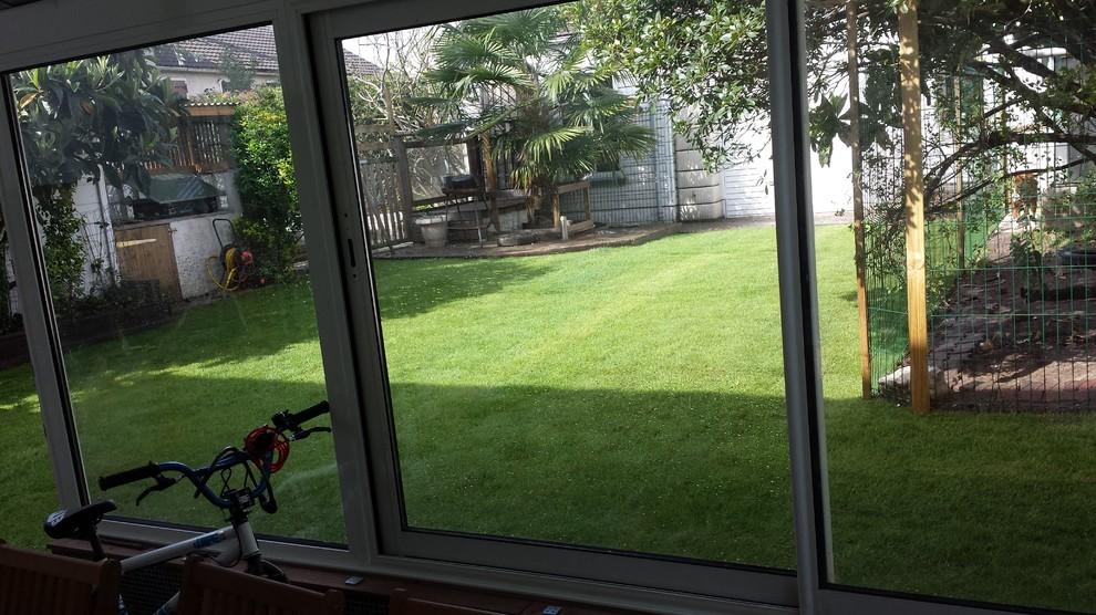 Nos realisations de création d'espaces verts et d'entretien de jardin avant et a