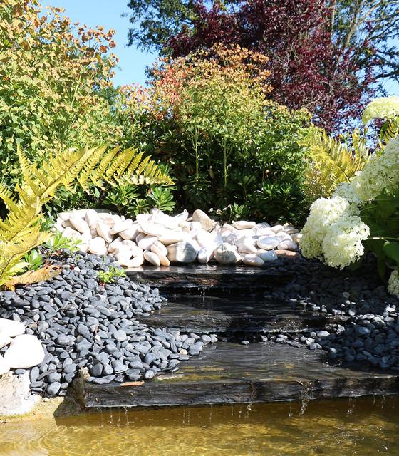 R alisation bassins campagne jardin rennes par for Realisation jardin