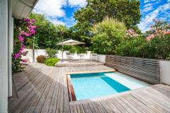 Avant/Après : Au Pyla une piscine incroyable agrandit la terrasse