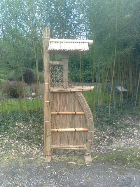 Sode Gaki, panneau en bambou pour jardin japonais - Asiatique ...