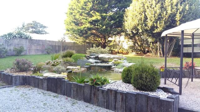 Un bassin d\'agrément - Landhausstil - Garten - Rennes - von ENVIE JARDIN