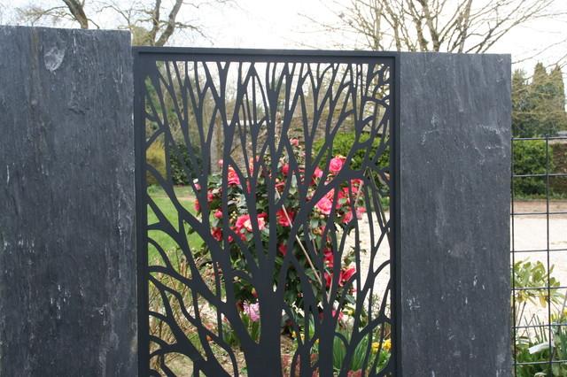 zoom panneau alu et cam lia classique chic jardin other metro par eurl olivier dubois. Black Bedroom Furniture Sets. Home Design Ideas