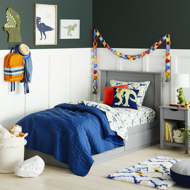 Kids Bedroom With Dinosaur Decor Bedding Collection Pillowfort Modern Kids Minneapolis By Target Home Houzz Uk