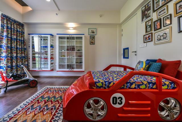 One of our pocket friendly interior works contemporary-kids
