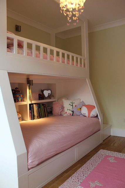 A Bedroom For A Little Girl Contemporary Kids Kent By Collins Bespoke