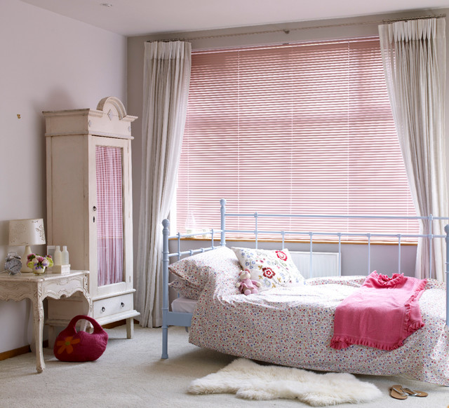 Bedroom blinds and interiors Shabbychic Style Kids Other by