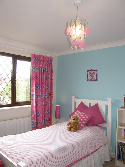 Bedrooms for 7 year old twin girls, Dorset