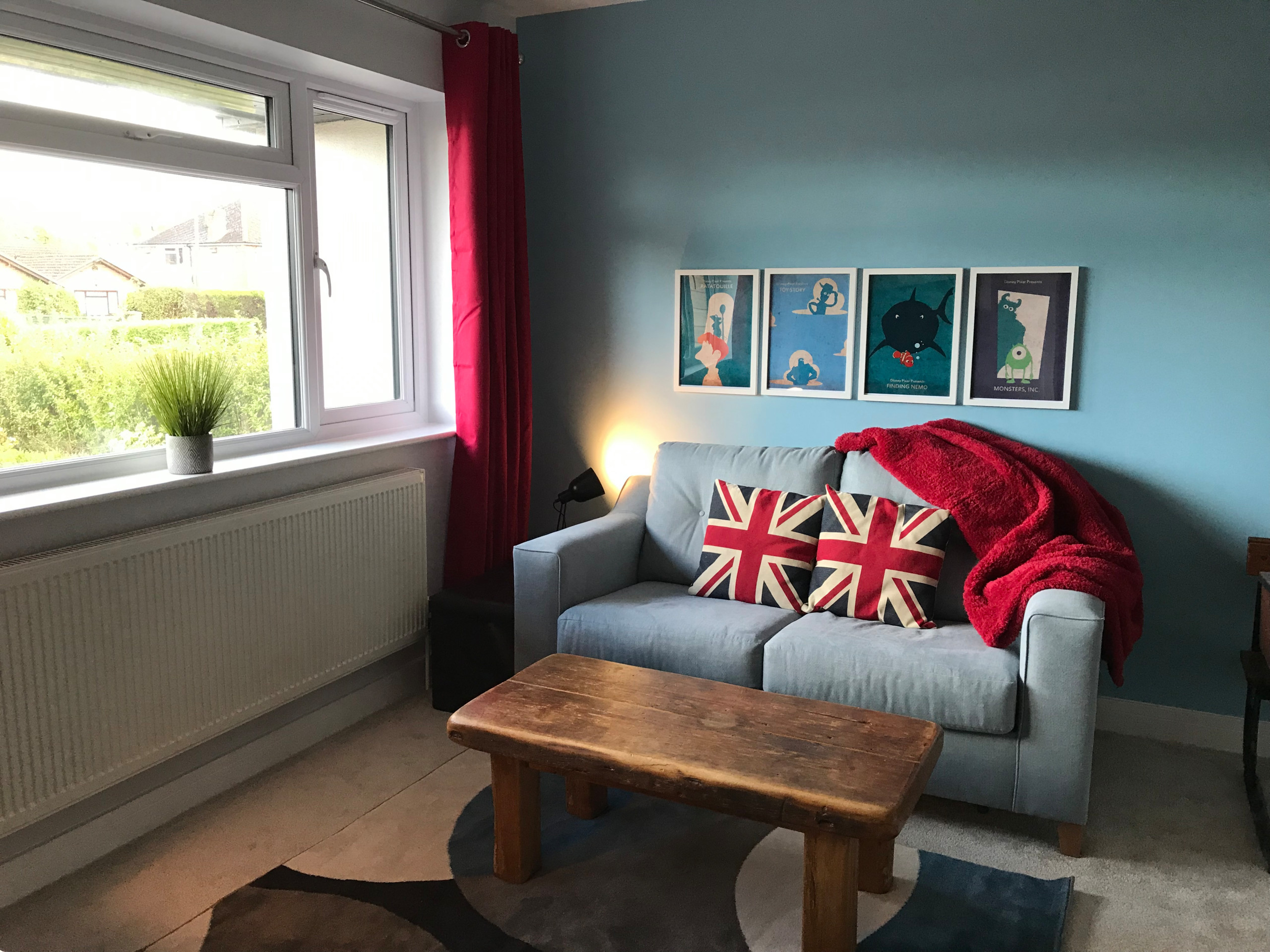 Bright and colourful playroom