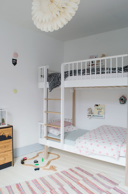 Bright modern scandi kids bedroom renovation victorian for Bedroom ideas victorian terrace