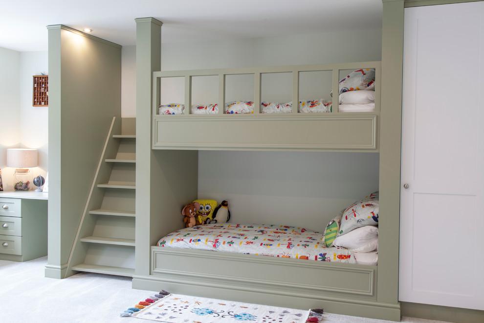 Children S Bedroom Transitional Kids Essex By Manor Design