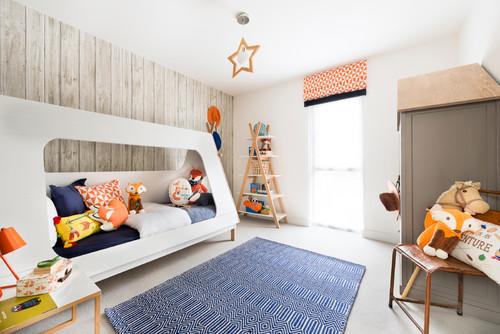 Par artspace interior design ltd voir plus de photos de chambres denfant scandinaves