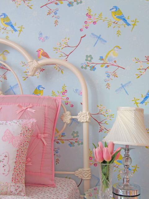 Girls Bedroom traditional-kids