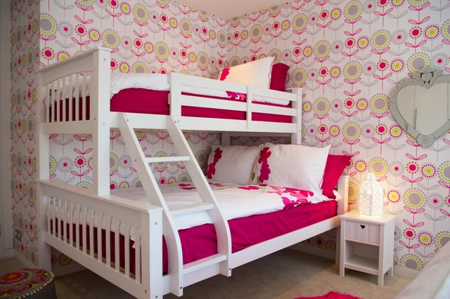 Lovely Girls Bedroom Contemporary Kids
