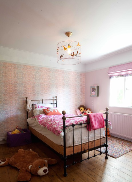 girls whimsical bedroom eclectic kids kent by furnished by