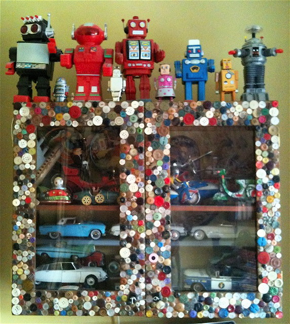 Installation, Robot & Tin Toy Collection, 2010 - Eclectic - Kids - london - by DesignRealisation