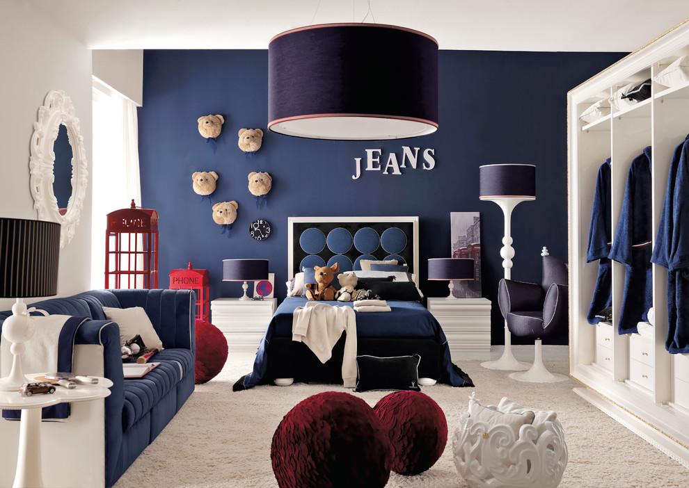Trendy kids' room photo in London