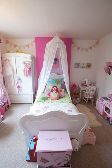 Little girl 39 s bedroom eclectic kids berkshire by for 8 year old bedroom ideas
