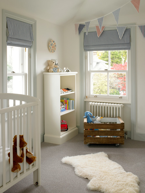 baby room ideas unisex. Soften A Plain Room By Introducing Pretty Printed Materials On Blinds, Bed Linens, Upholstery Or Curtains. Stripes, Gingham And Polka Dots Are Classic Baby Ideas Unisex