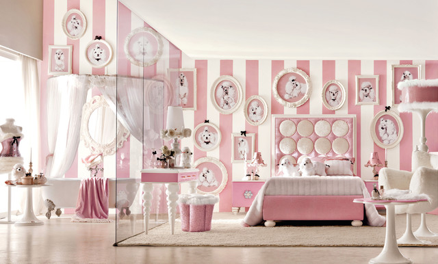 Lolita pink bedroom by Imagine Living contemporary-kids
