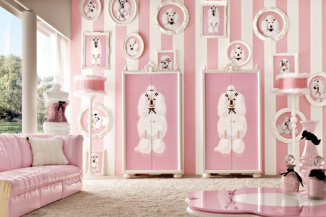 Lolita pink bedroom by Imagine Living - Contemporary - Kids - London ...