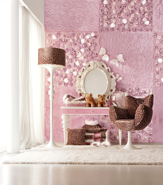 Luxury Dolly Girls Bedroom by Imagine Living eclectic-kids