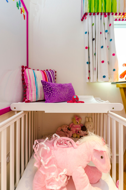 Lydias Nursery Modern Kids London By MK Interiors