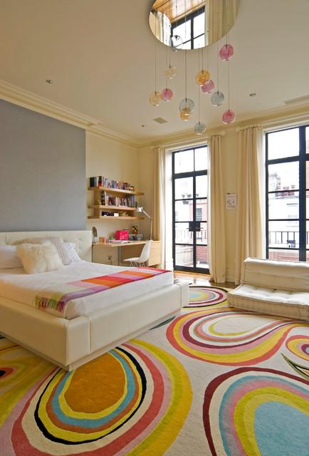 New York City brownstone contemporary-kids
