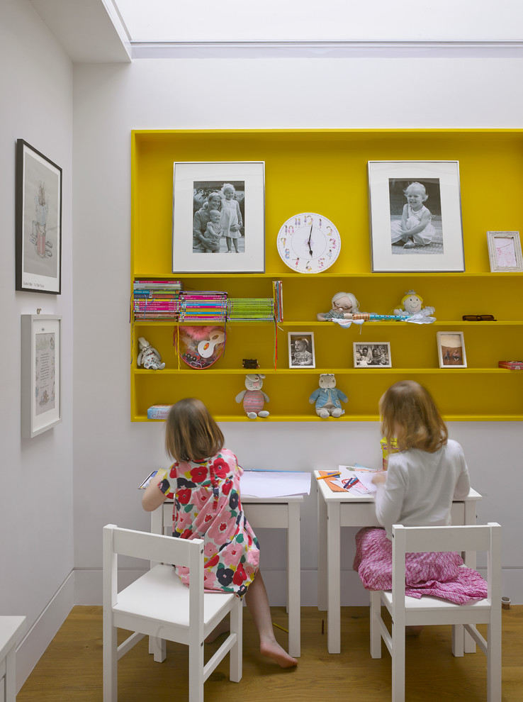 Example of a trendy kids' room design in London