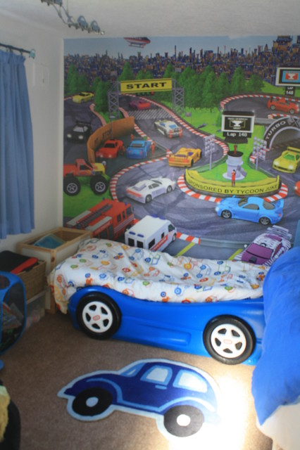 Racing Car Themed Boys Bedroom Contemporary Kids Manchester UK By Gir