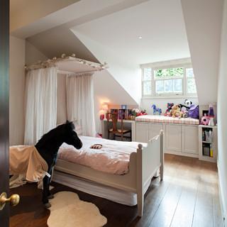 Restoration of Semi-detached villa in South London - Traditional - Kids - London