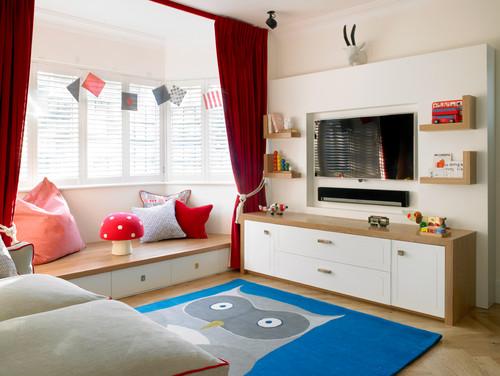 Contemporary Kids By London Interior Designers U0026 Decorators Amory Brown