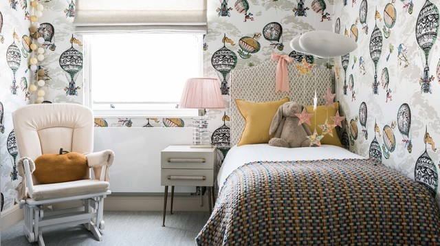Stylish family home in chelsea klassisch modern kinderzimmer