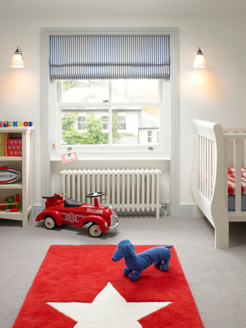 Kids rooms small people s spaces with grown up appeal for Blinds for kids rooms