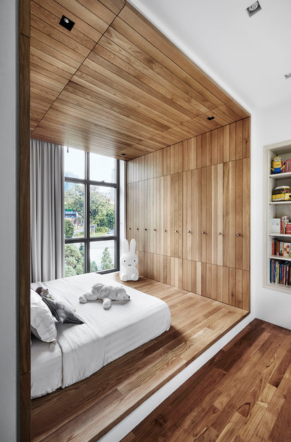 公寓室内 @ River Place - Minimalistisch - Kinderzimmer - Singapur ...