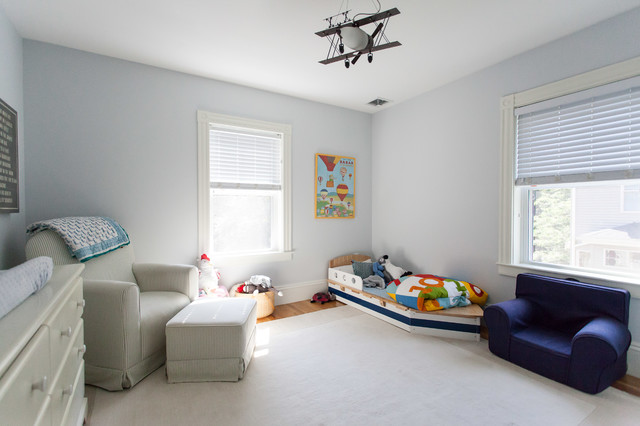 100-year old Victorian Whole House Renovation traditional-kids