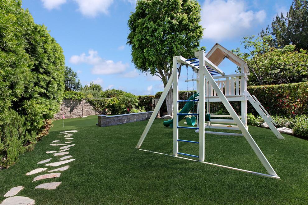 Kids' room - mediterranean kids' room idea in Orange County