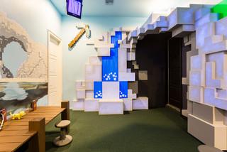 3d Minecraft Room Moderno Bambini Orlando Di Louise Stapleton Interiors