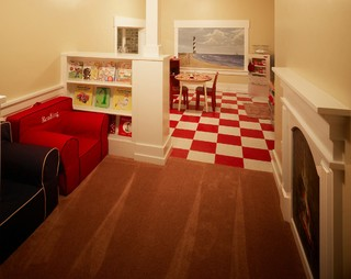 50's Style Kitchen (Childrens Play Room) - Traditional - Kids ...