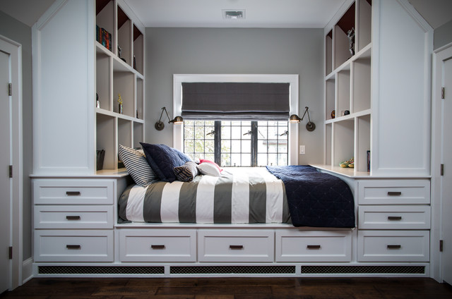 How to Sneak In Creative Guest-Room Storage