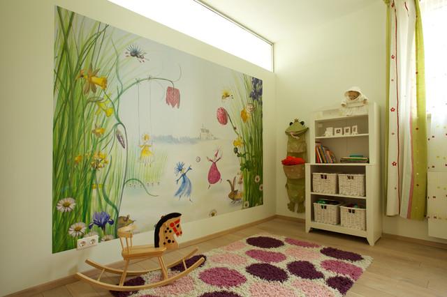 990-Square-Foot Condominium in Vilnius, Lithuania contemporary-kids