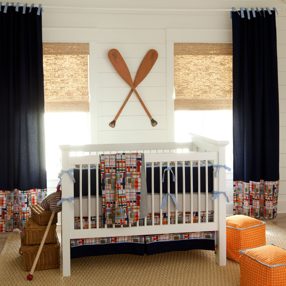 A Baby Boy S Nursery Nautical Theme