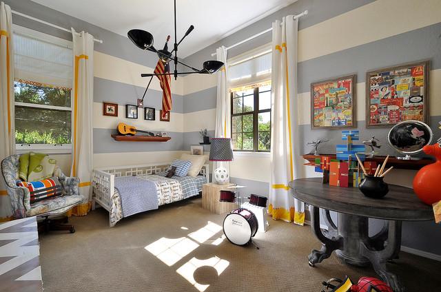 A Boy's Room contemporary-kids