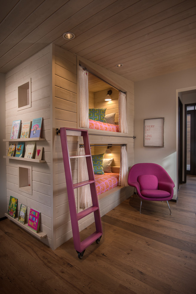 Inspiration for a rustic kids' room remodel in Boise