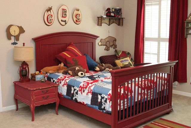 A Great North Woods Toddler Boys Room Eclectic Kids