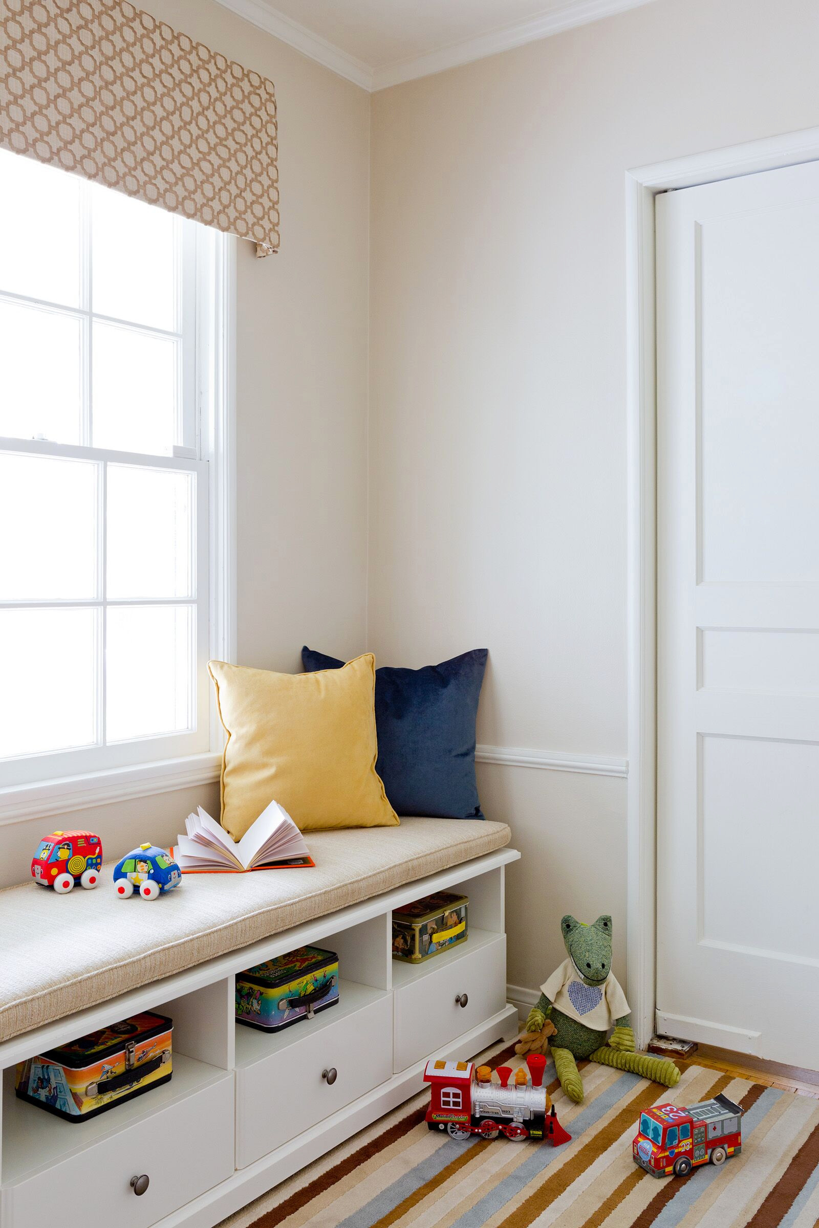 A Playful Childs Reading Corner